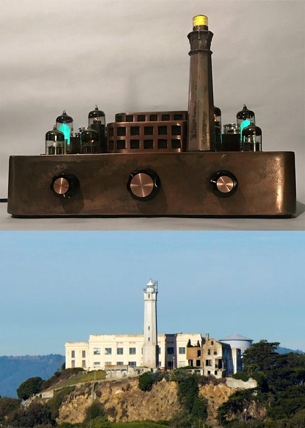 Суровый ламповый усилитель ламповый усилитель, самоделки, моддинг, Алькатрас, ремонт теÑники, длиннопост