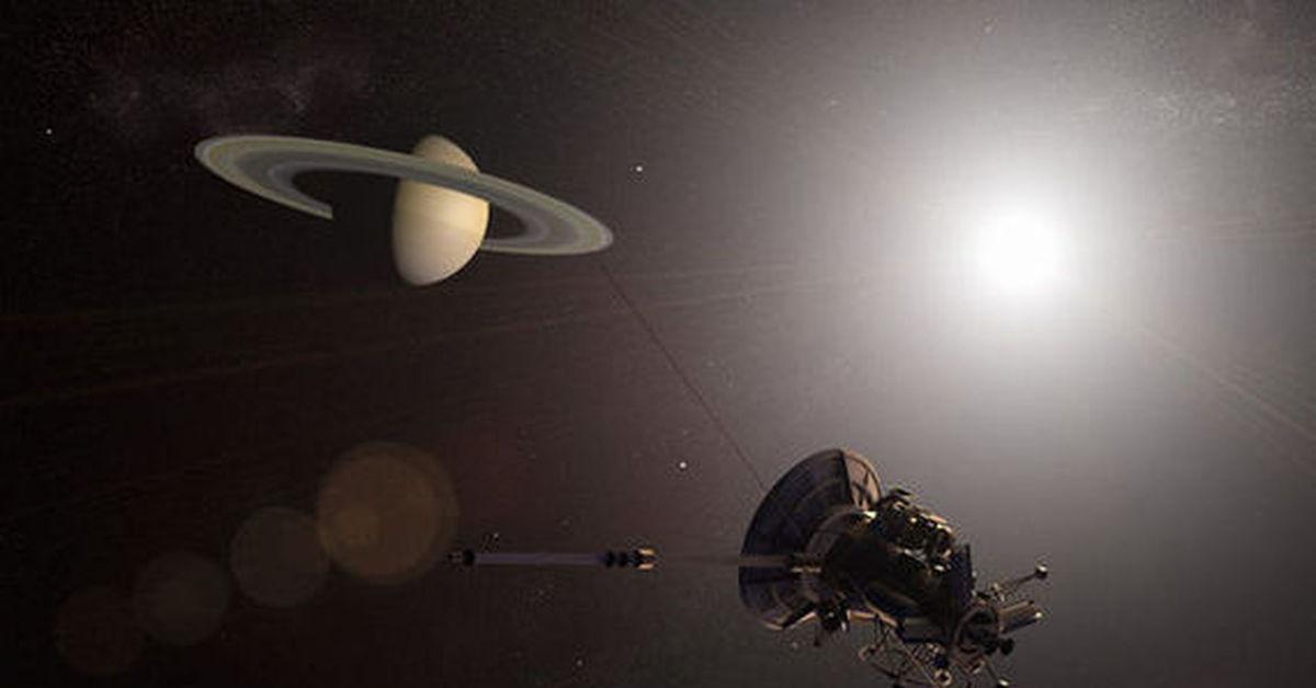 saturn cassini spacecraft - 1000×662