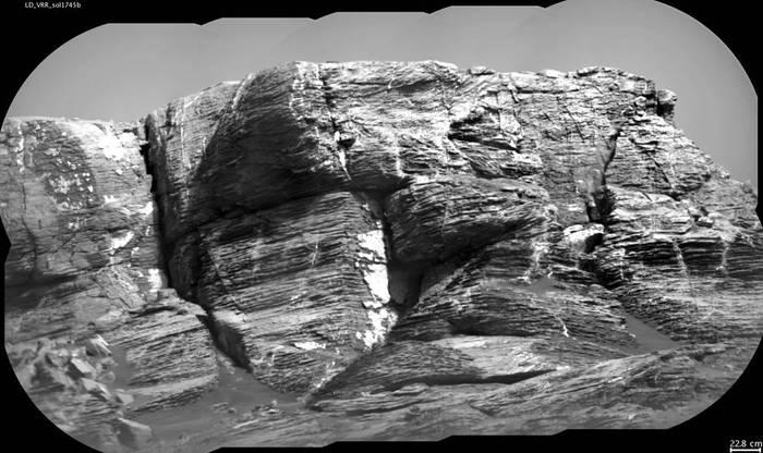 Хребет Веры Рубин на Марсе Марс, Вера Рубин, curiosity, Гематитовый хребет