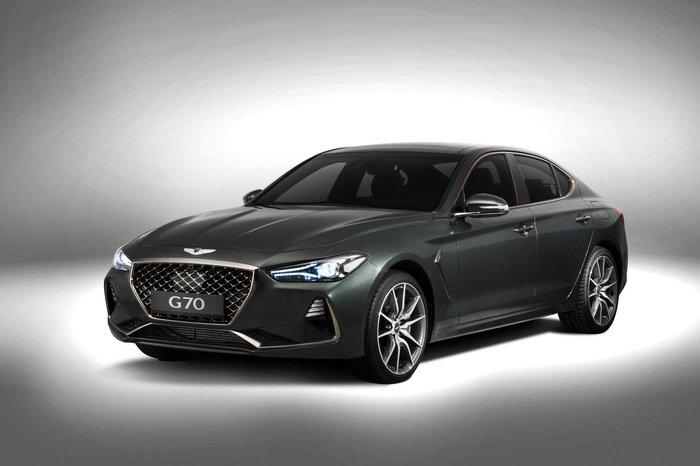 У корейцев появился конкурент 3 Series и C-Class — Genesis G70 Авто, Genesis, Hyundai, Длиннопост