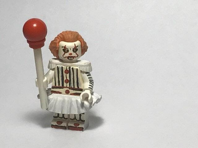 Кастомная минифигурка Пеннивайз Пеннивайз, Lego, Custom, Reddit, IT, Оно