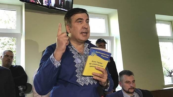 Экс-президент Грузии становится главной внутриполитической проблемой для Киева Украина, Саакашвили, Киев, Политика, «Коммерсантъ», Власть, Петр Порошенко