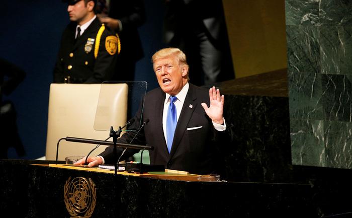 Трамп с трибуны ООН пригрозил Северной Корее «полным уничтожением» Политика, США, Дональд трамп, Угроза, Северная корея, ООН, Ядерная угроза, Рбк, Видео, Длиннопост