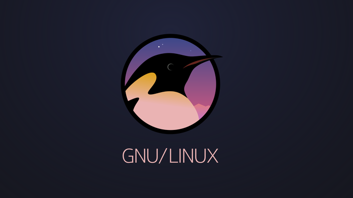 GNU/Linux логотип Логотип, Linux, Пингвины, Inkscape, Svg