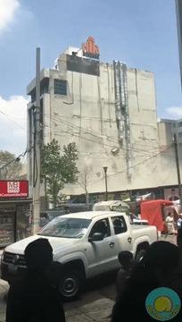 Землетрясение в Мексике Землетрясение, Мексика, Разрушение, Гифка