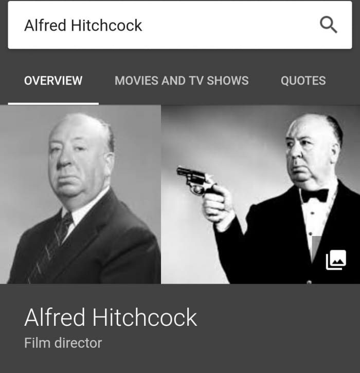 an overview of the movies by hitchcock