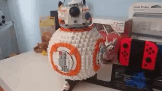 Лего BB-8 Lego, Гифка, Bb-8, Star wars