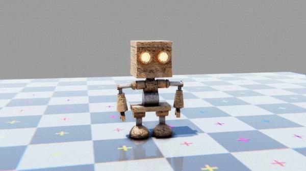 M E C H A N I S M - адвенчура/ депрессивность/ милашный робот Инди игра, Gamedev, Инди, Unity, Разработка игр, Гифка, Длиннопост