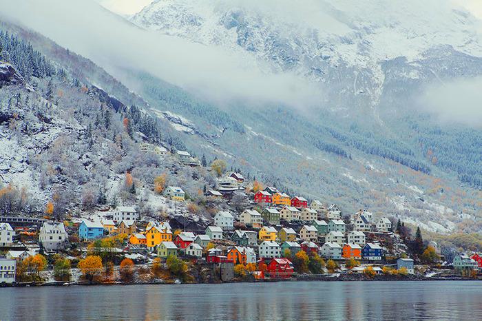 Роскошные пейзажи Норвегии - Страница 22 1506146013174099407