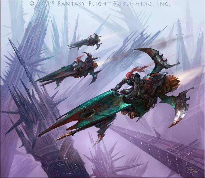 Dark Eldar reavers
