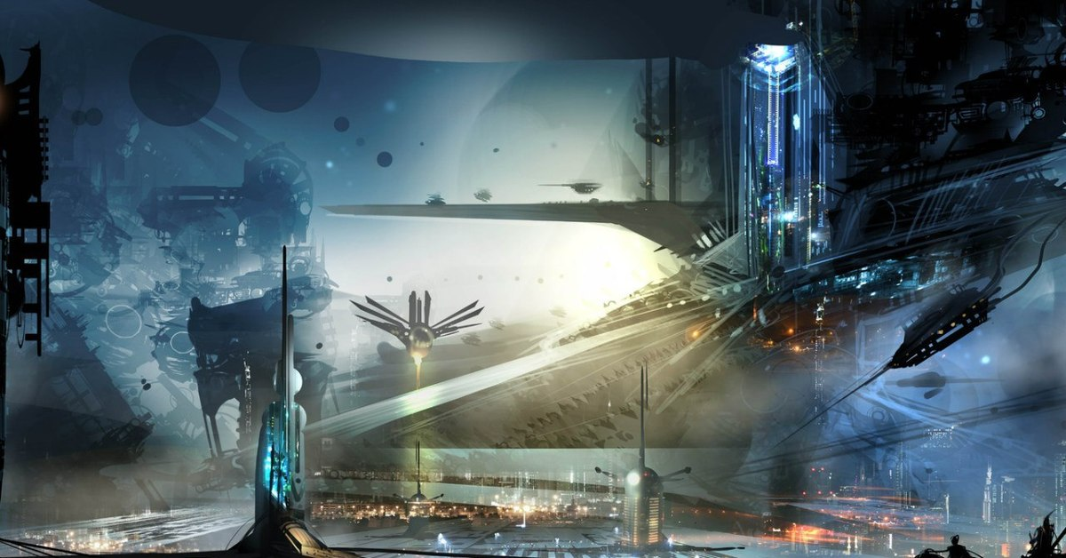 sci fi art - HD1920×1200