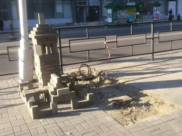 Когда в душе ты архитектор Строительство, Тротуарная плитка, Липецк