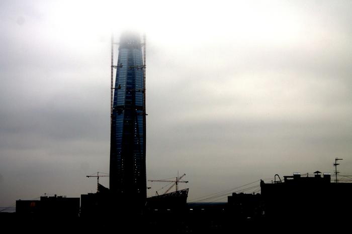 Башня Лахта-Центр выглядит как в City17 Начинающий, Фотограф, Санкт-Петербург, Как в City17, Half-Life