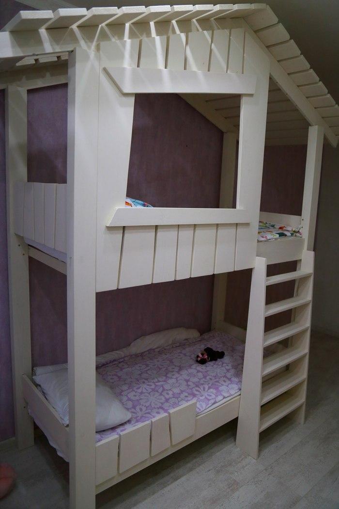 Кровать-домик моё, своими руками, детская кроватка, длиннопост