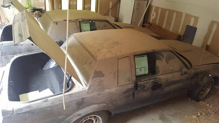 Buick Grand National провели в гараже — 30 лет! Buick, Забвение, 1987 Buick Grand National, Barnfind, Drive2, Перевод, Длиннопост