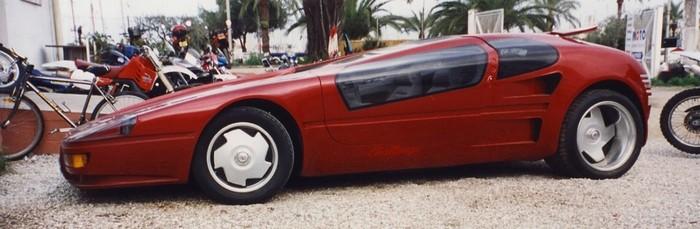 Sbarro Challenge III '1987 80-е, Sbarro, Длиннопост
