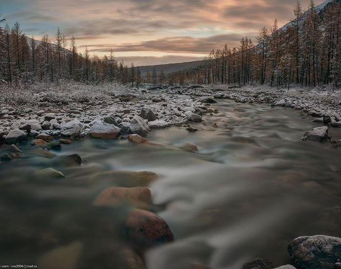 Долина реки Актру, Республика Алтай. Сентябрь 2017 Река, Актру, Горный Алтай