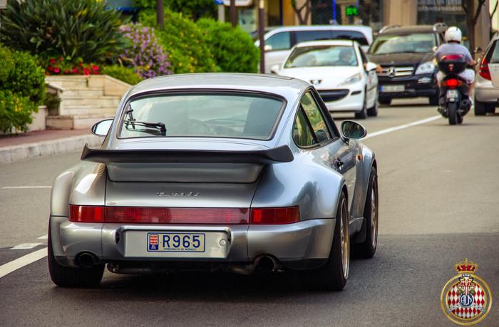 Porsche 911 Turbo 3.6 Авто, Фотография, Монако, Porsche