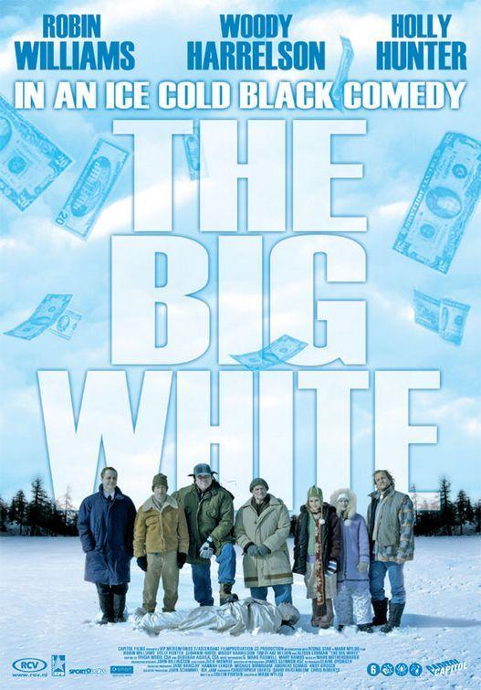 Советую посмотреть: Большая белая обуза Драма, Комедия, Триллер, Черная комедия, Робин Уильямс, Большая белая обуза