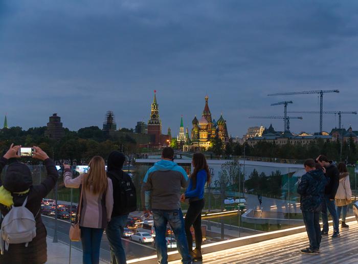 Москва, ракурсы со стороны парка. Москва, Зарядье, Фотография, Длиннопост