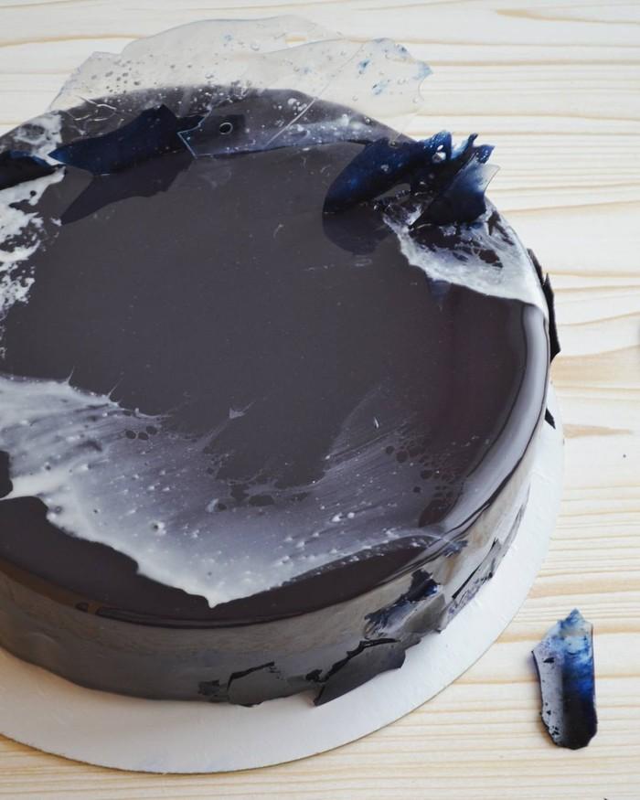 """Торт """"Galaxy"""" Торт, Муссовый торт, Зеркальная глазурь, Мусс, Вкусно, Десерт, Кондитер, Кондитерские изделия, Длиннопост"""