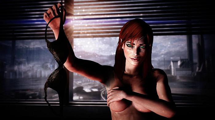 Немного Джейн Шепард в ленту Mass effect, Шепард, Компьютерные игры, Эротика, Длиннопост