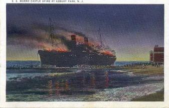 «Морро Касл»-жертва пиромана. Морро Касл, Лайнер, Пожар, 1934, Пироман, Длиннопост