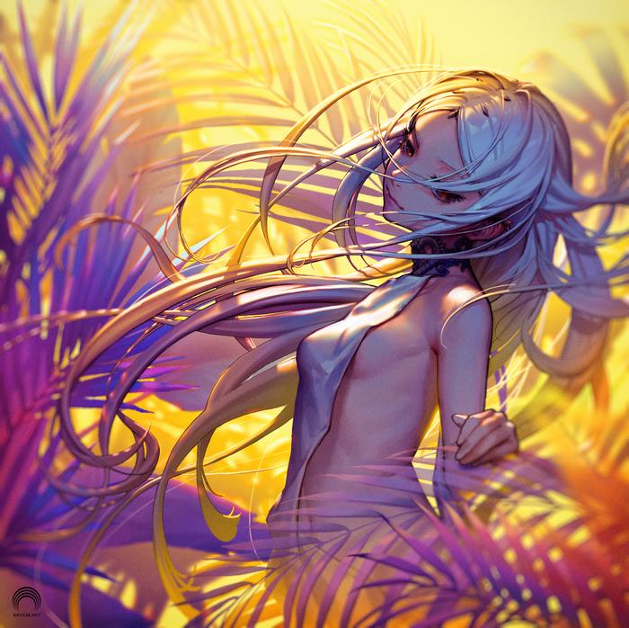 Подборка артов, рандомная Anime Art, Аниме, Длиннопост, Арт