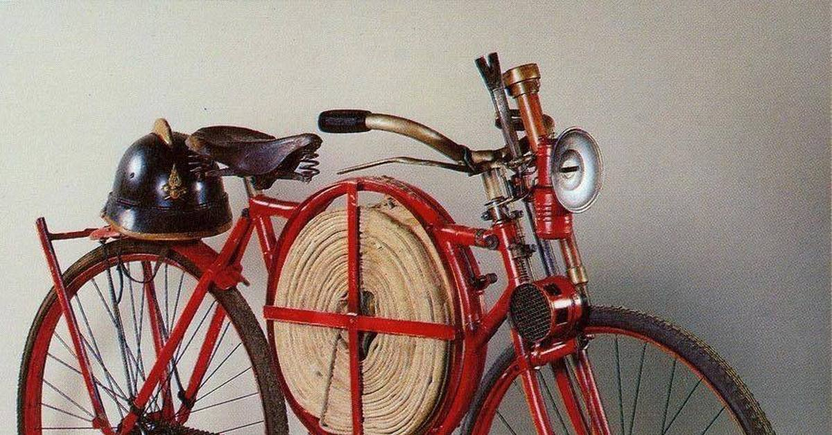 картинка пожарный велосипед могут быть