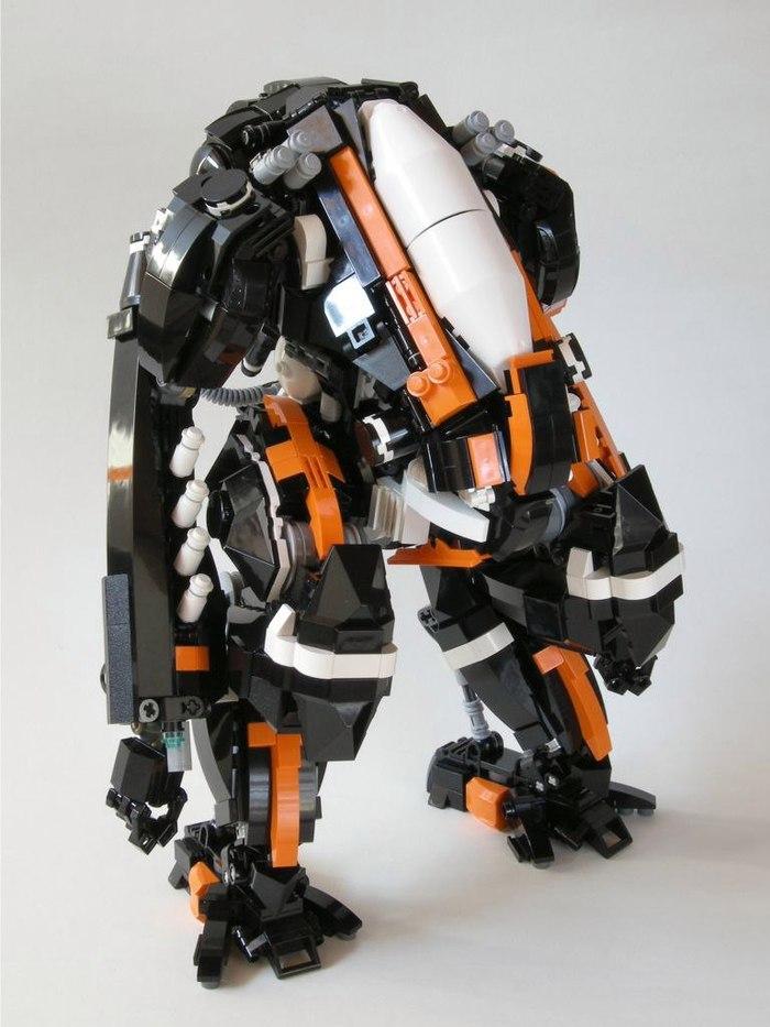 Лего Меха Lego, Меха, Робот, Длиннопост