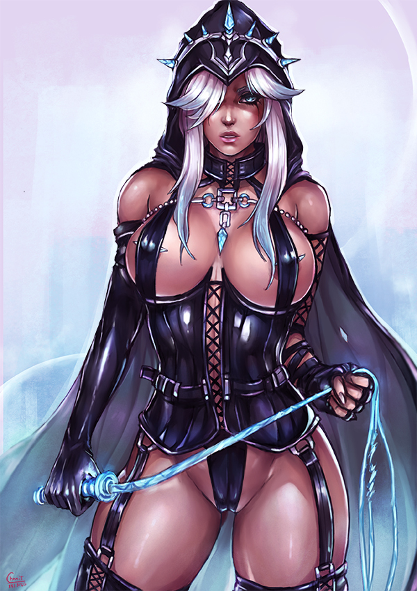 Mistress Ashe League of Legends, Ashe, Арт