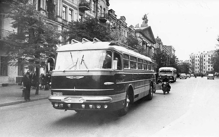 "Возвращение ""Короля дорог"" Ikarus 55, Автобус, Находка, 2014, Длиннопост"