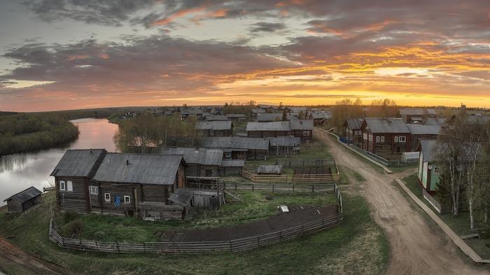 Тихая родина. Деревня Кимжа, Архангельская область.