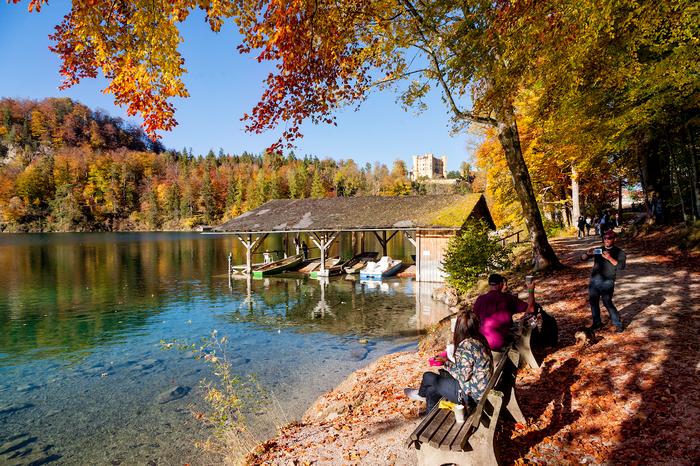Осень в баварских Альпах. Фотограф, Фотография, Canon 5D, Бавария, Альпы, Осень, Длиннопост