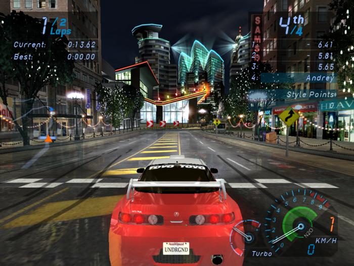 Игры гонки underground играть онлайн игры новые онлайн 2012