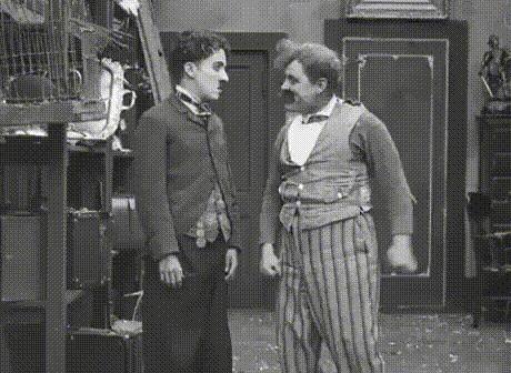 Искусство боя от Чарли Чаплина