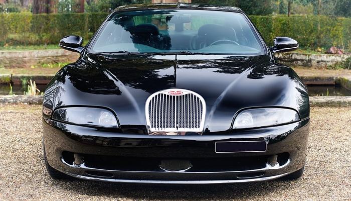 1998 Bugatti EB112 Bugatti, Концепт, Длиннопост