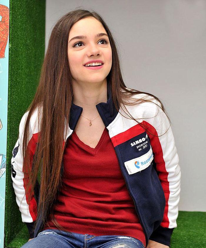 Евгения Медведева - российская фигуристка Фигурное катание, Спорт, Красивая девушка, Getty Images, Евгения Медведева, Длиннопост