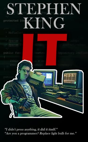 Если бы Стивен Кинг был программистом
