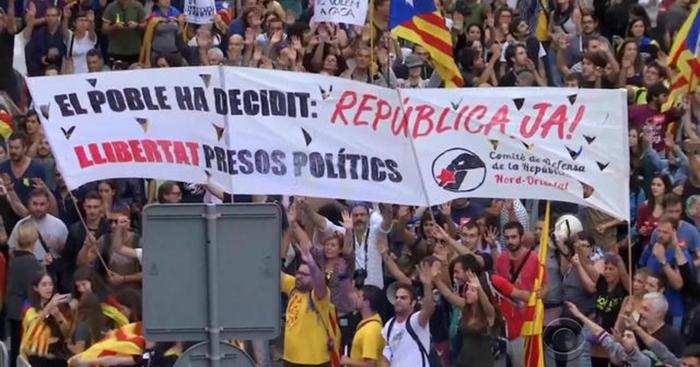Каталония на распутье. Политика, Каталония, Референдум