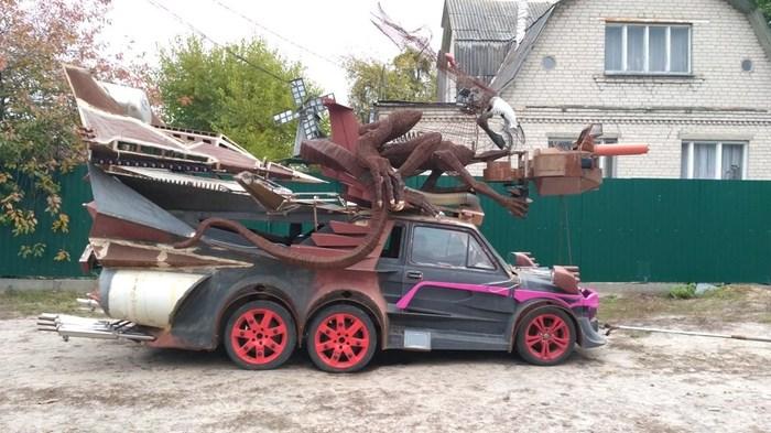 Адское авто в Киевской области Фрик-Шоу, Авто, Прикол, Жесть, Адок, Fiat, Длиннопост