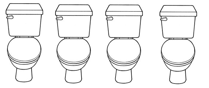 Парни которые писают в туалете держат писюн в руказх или нет