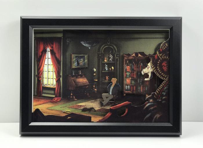 Диорама по видеоигре Broken Sword 2: The Smoking Mirror Broken Sword, Игры, Компьютерные игры, Диорама, Playstation, Квест, Ручная работа, Ностальгия, Длиннопост
