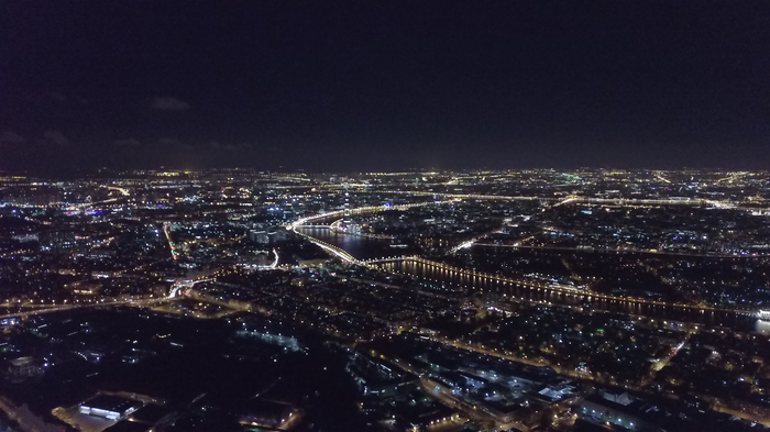 Немного ночного Петербурга Фотография, Санкт-Петербург, Квадрокоптер
