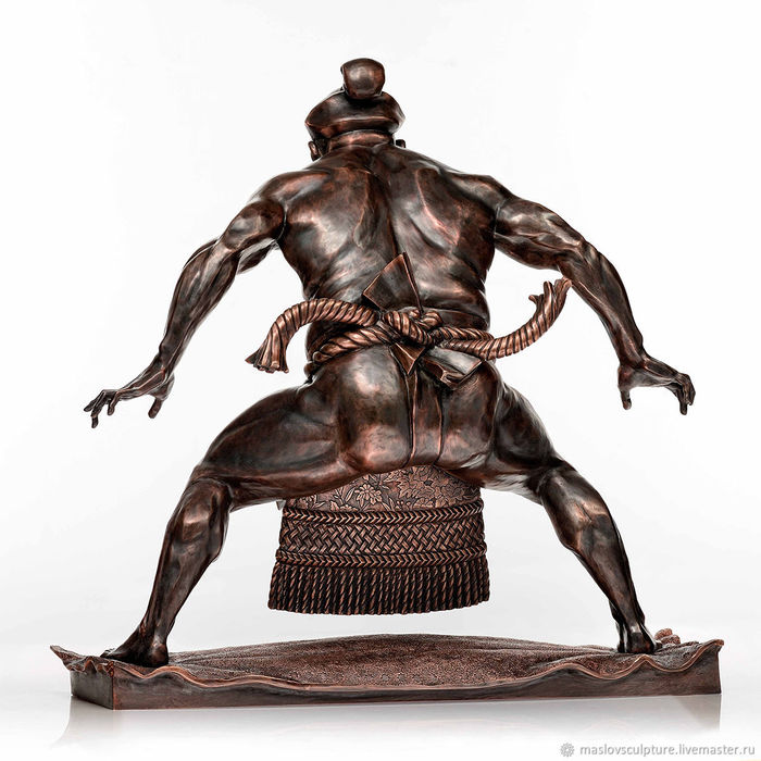 Статуэтка победитель Скульптура, Статуэтка, Бронза, Санкт-Петербург, Длиннопост