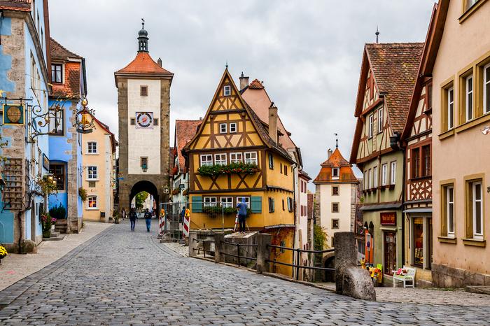 Бавария, Австрия (Роттенбург-на-Таубере, Зальцбург) Бавария, Германия, Зальцбург, Роттенбург, Фотография, Длиннопост, Canon 5D