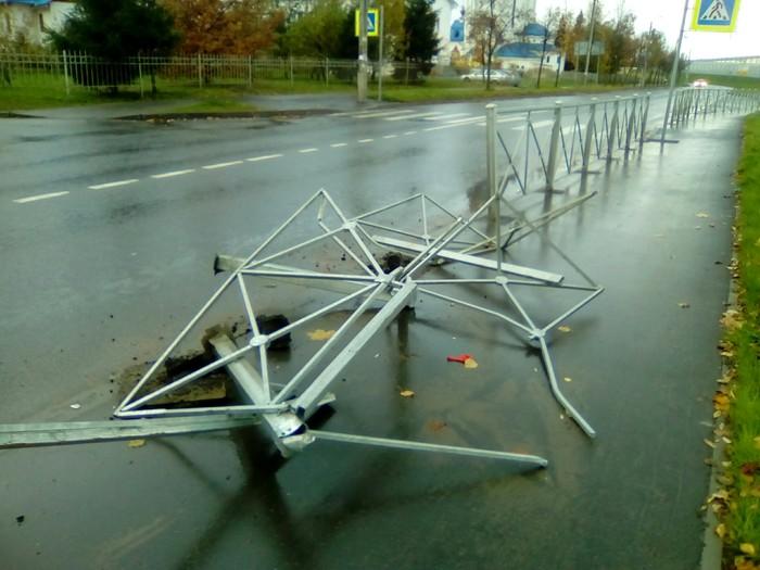 Когда не видел, что произошло ДТП, Пешеходный переход, Санкт-Петербург, Шушары, Привет читающим тэги