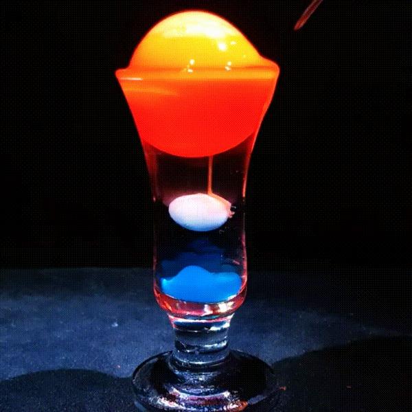молекулярные коктейли рецепты видео