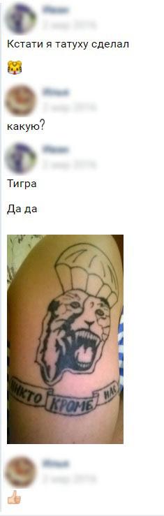 Тигр курильщика. Тигр, Тату, Наколки, Длиннопост