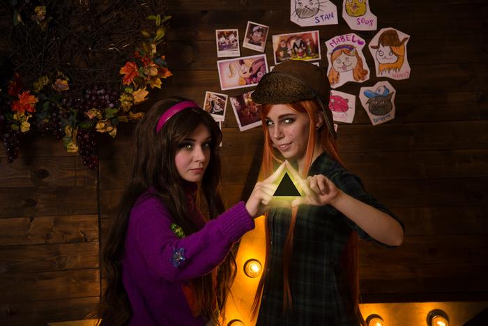 Happy Halloween, Gravity Falls Cosplay gravity falls, Косплей, Русский косплей, Gravity Falls, Wendy gravity falls, Mabel, Bill Cipher